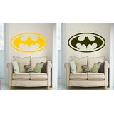 Adesivo Decorativo Parede Quarto Batman Símbolo Morcego