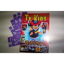 Album De Figurinhas E Cards Tv Kids Pokemon