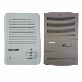 Frente Portero Electrico Commax Embutir/exterior 2 Cables