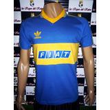 Camiseta Boca Retro 1991 Publicidad Fiat