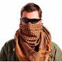 Shemagh Lenço Tático Árabe Proteção Airsoft Jogo Coyote