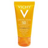 Protetor Solar Com Cor Vichy Capital Soleil Toque Seco Fps 5