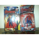 Muñecos Avengers, Iron Man Thor 18cm Articulados