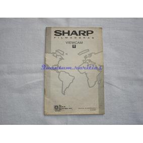 Manual Instruçoes Filmadora Vl-e398 Sharp Usado No Estado