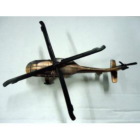 Helicóptero Militar Em Metal (apontador De Coleção)