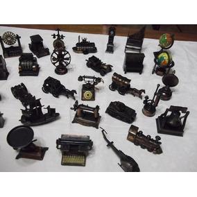 Apontador De Metal Miniatura Antigo (lote Com 41 Peças