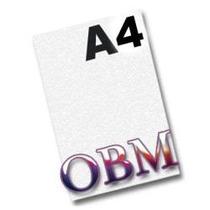 Papel Obm A4 Fundo Branco Para Tecidos Escuros, Papel Tecido