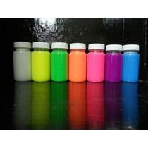Pintura Fluorescente Y Fosforescente Para Aventar A La Ropa