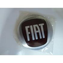 Emblema Fiat Novo Para Rodas Esportivas 90mm