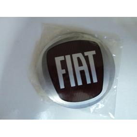 Emblema Fiat Novo Para Rodas Esportivas 50mm