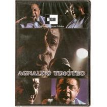 Dvd Agnaldo Timóteo - Ensaio - Novo Lacrado***