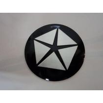 Emblema Adesivo Crysler Para Rodas Esportivas 58mm