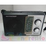 Radio Analogico Premier 3774 Am Fm Tv Usb Sd 5 Bandas Contro