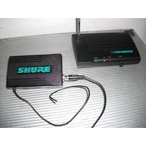 Shure Broders T3 Receiver E T3 Transmitter Microfone Sem Fio