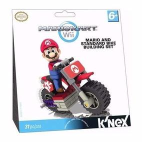 Lego Boneco Mario Kart Wii Mario And Standard Bike Building