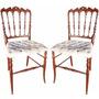 Cadeira Antiga Decorativa Modelo Napolionica