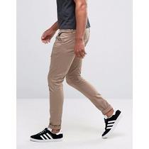 Pantalón Corte Skinny Tubito Talla 28 A La 36