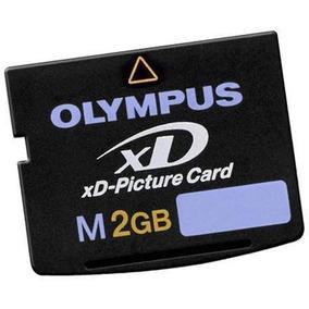Cartão Memória Xd 2gb P Camera Digital Olympus E Fuji