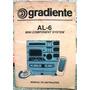 Catálogo Do Mini Component System Al-6 Gradiente