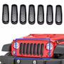 Insertos De Parrilla Para Jeep Wrangler 2007-
