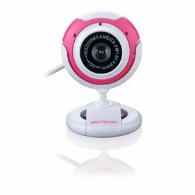 Webcam Multilaser 16mp Função Foto Rosa Wc042 Lacrado