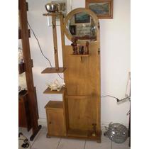 Porta Chapeu - - Chapeleira Antiga - Espêlho Bisotado