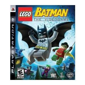 Jogo Lacrado Lego Batman The Videogame Pra Playstation 3 Ps3