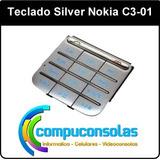 Teclado Silver Nokia C3-01