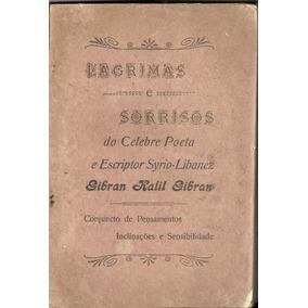 Livro De Kalil Gibran 1920 (primeira Edição)