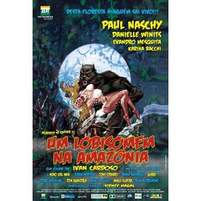Poster Pequeno (imp. Couche A3) De Um Lobisomem Na Amazônia