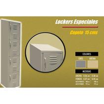 Lockers Metalicos /casilleros Especiales Con Copete
