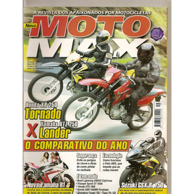 Revista Moto Max - Honda Xr 250 Tornado X Yamaha Xtz 250 Lan