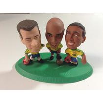 Copa Do Mundo Bonecos: Dunga, Ronaldo E Romário.