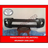 Parachoques Delantero 4runner Original 2006-2009 Toyopronto