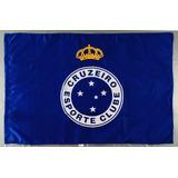 Bandeira Oficial Do Cruzeiro Torcedor 1,28 X 0,90