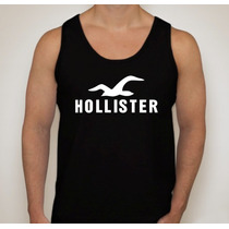 Camiseta Regata Hollister - Ótima Qualidade Menor Preço!!!