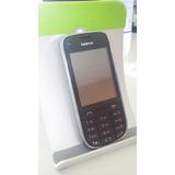 Celular Nokia Asha 202 Desbloqueado Dual Chip Preto Vitrine