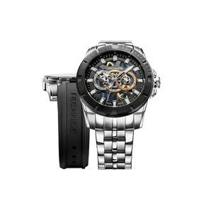 Relógio Technos Masculino Carbon Troca Pulseira 6p75aa/1p