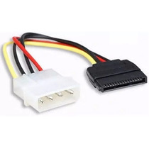 Cable Energia Poder Power Adaptador Molex A Sata 4 Pines Ccc