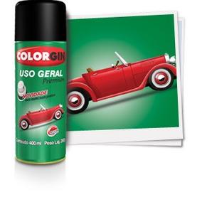 Spray Colorgin Uso Geral Bicicleta Caloi 56041 Amarelo Limão