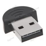 Adaptador Bluetooth Usb2.0 Dongle V2.0 100m Pc Frete R$7,00