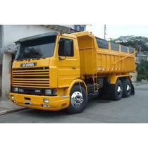 Scania 113 320 Traçado Caçamba Basculante 6x4