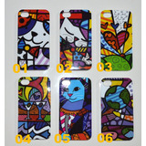 Capa Case Acrílica Iphone 4 4s Romero Britto