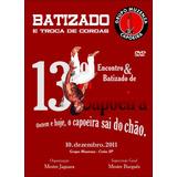 Dvd Capoeira Batizado Grupo Muzenza - Mestre Jaguara