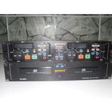 Cd Player Cdj Duplo Gemini Cd 9500 Professional Dual
