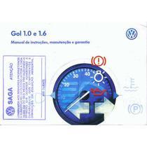 Manual Proprietario Gol 1.0 Ou 1.6 2003 G3 C/suplementos