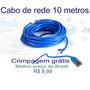 Cabo De Rede 10 Metros Baratíssimo