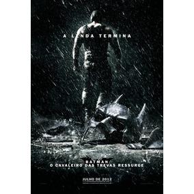 Poster A3 Do Filme Batman - O Cavaleiro ... / Ver. Bane