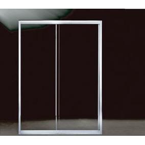 Cancel Corredizo (1.10x2.00m) Cristal Templado Aluminio