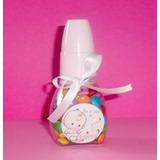 Lembrancinha Para Bebê! Mini Mamadeira Recheada Com Confete!